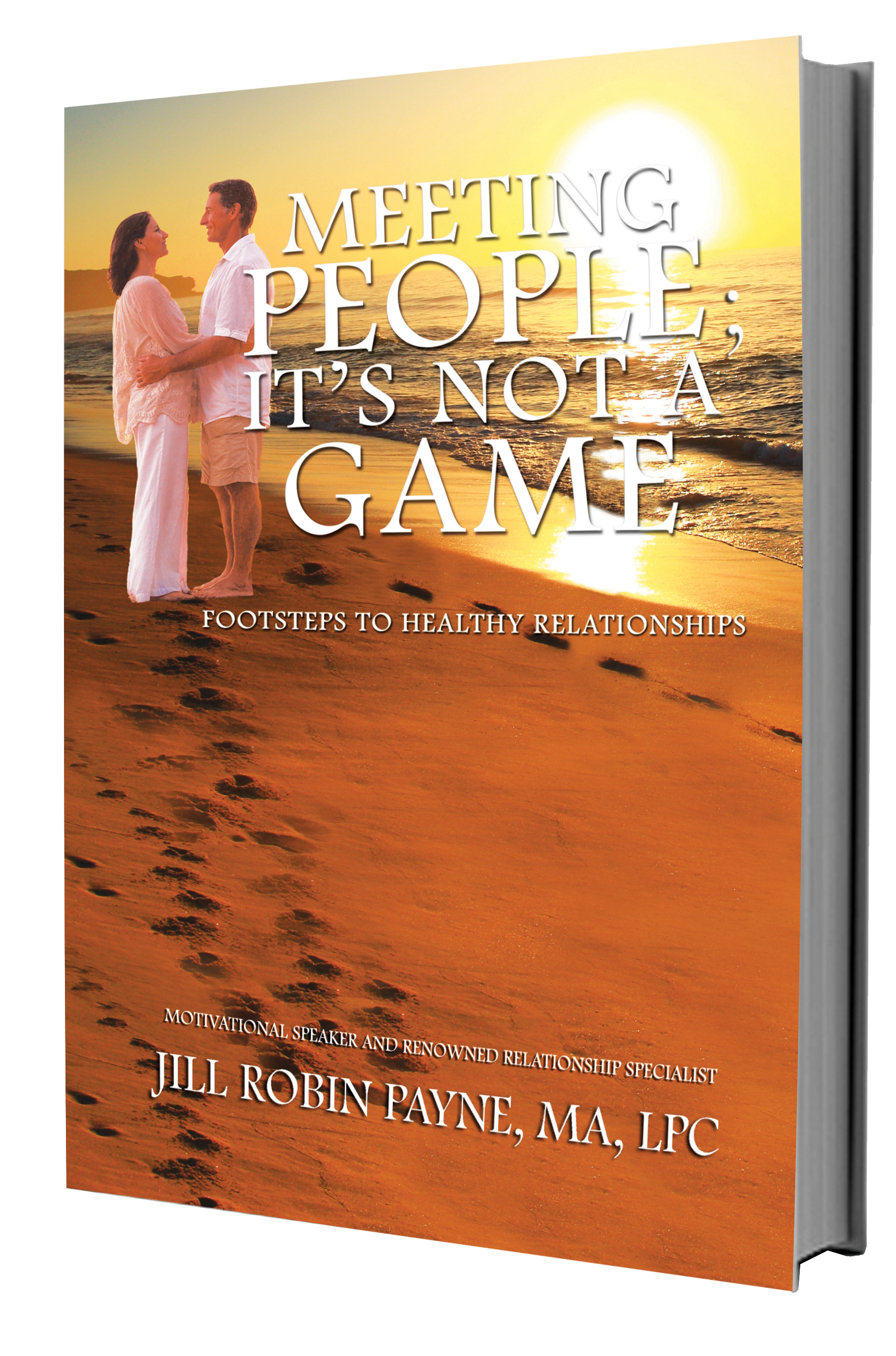 "Image of Book Cover ""Meeting People; It's Not A Game"""